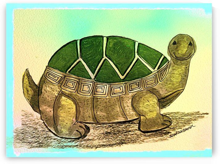 Turtle  by Aurelia Schanzenbacher Sisters Fine Arts