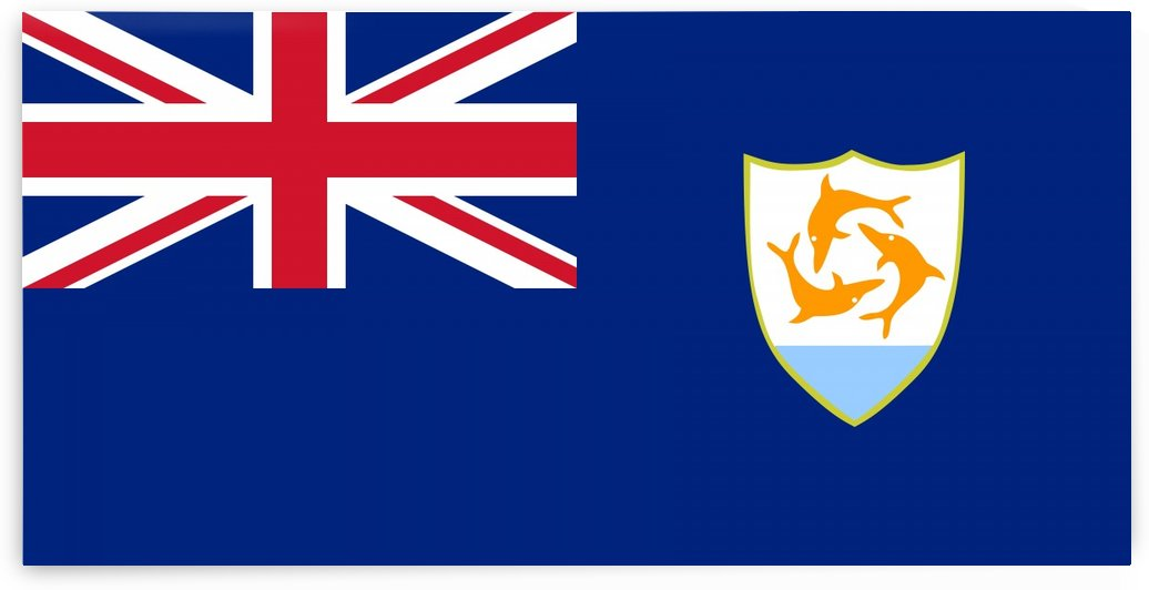 Anguilla Flag by Fun With Flags