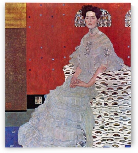 Fritza Reidler Klimt by Klimt