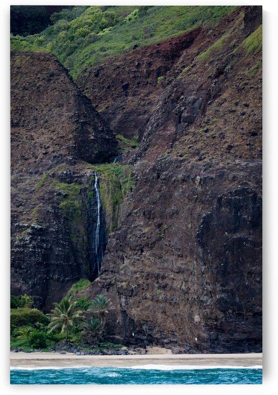 Na Pali Coast Waterfall   Kauai Hawaii 9962 by @ThePhotourist