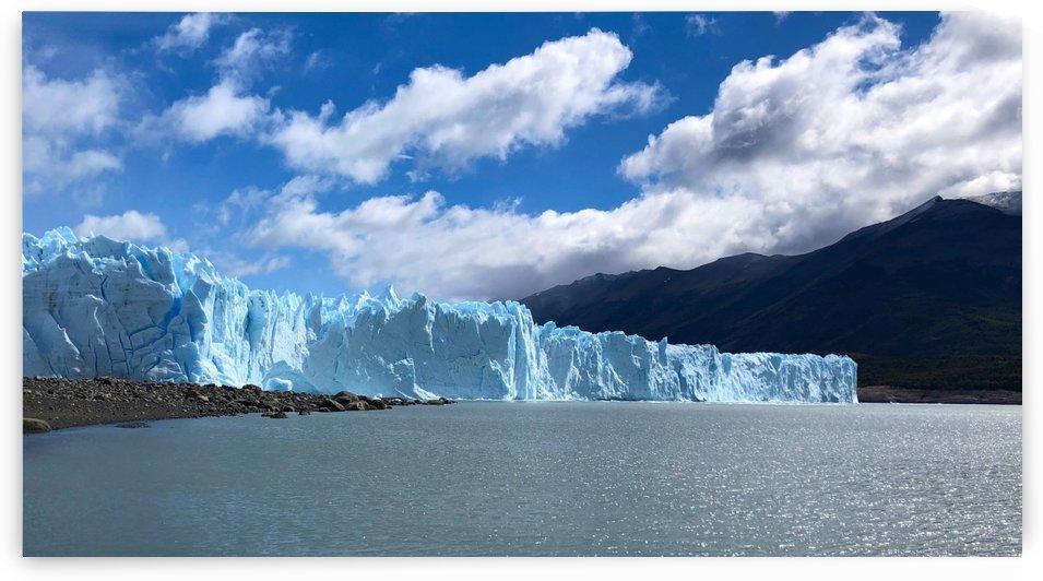 Perito Moreno Glacier Front Face by Creative Endeavors - Steven Oscherwitz