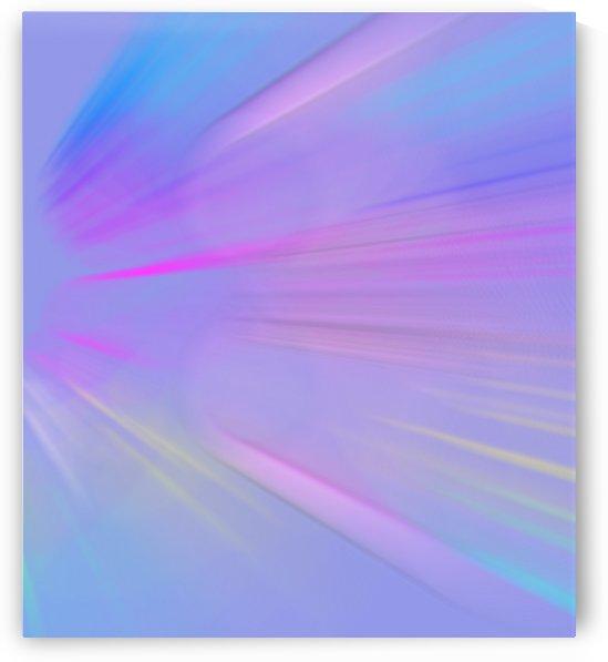 Purple Comet by Jenn Rosner
