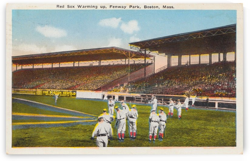 1915 Red Sox  by Row One Brand