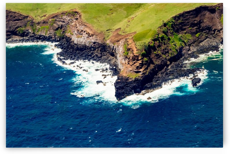 Coastline Aerial View   Maui Hawaii 2099 by @ThePhotourist