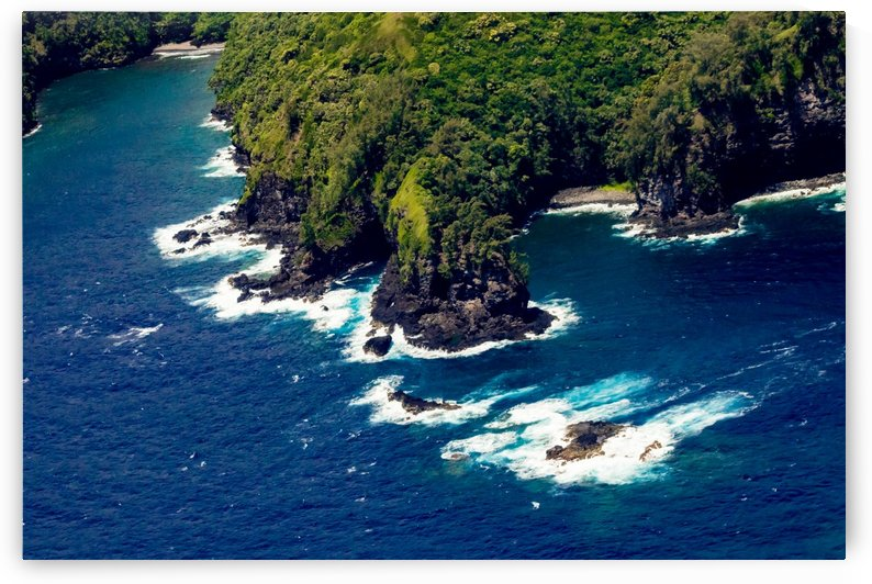 Coastline Aerial View   Maui Hawaii 2135 by @ThePhotourist