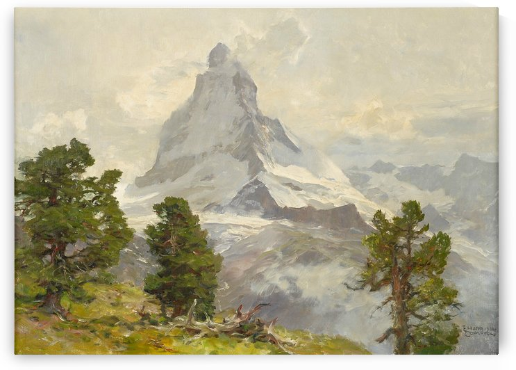 Matterhorn by August Wilhelm Leu