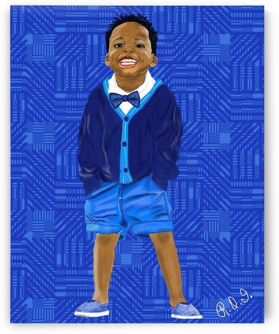 Little Boy Blue by Rhonda Irby
