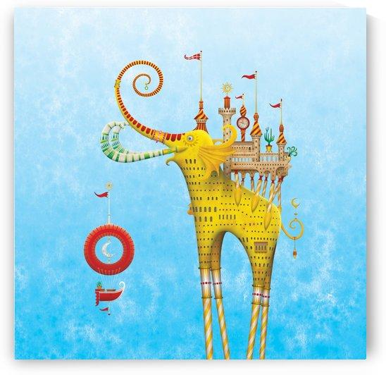 Castellini Elephantini Dorado by Marcelo Kato