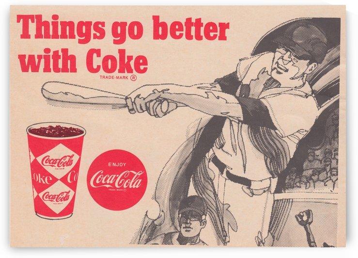 1969 Coke Baseball Ad by Row One Brand