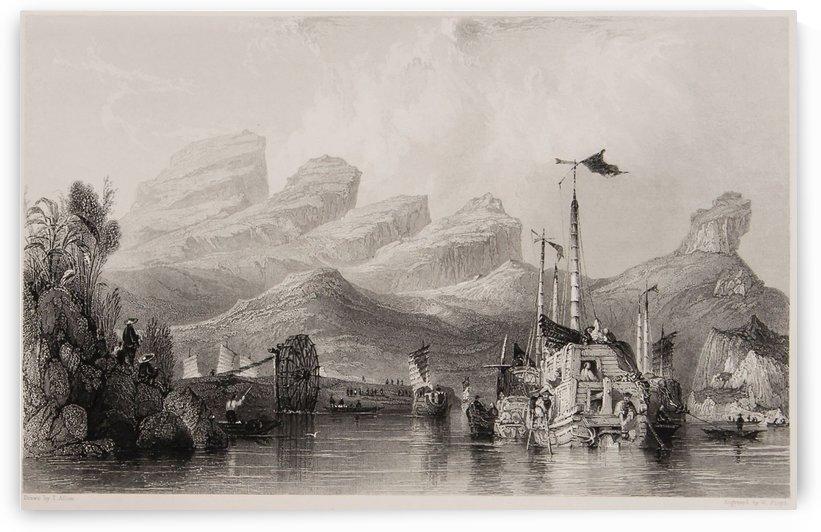 Port from China by Thomas Allom