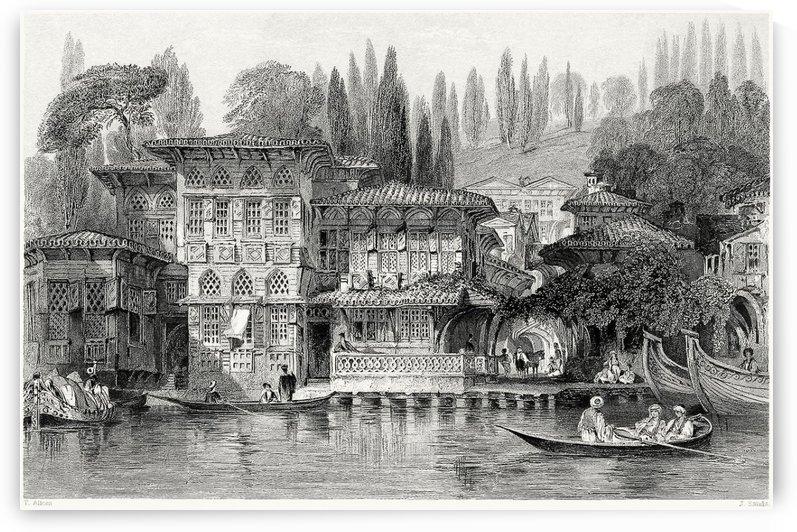 Greek priest house, near Yenikoy, on the Bosphorus by Thomas Allom