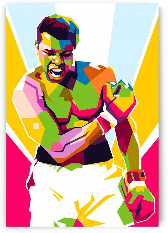 Muhammad Ali by wpaprint