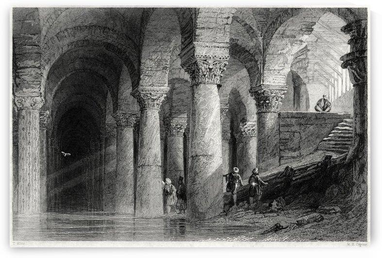 Basilicacistern by Thomas Allom