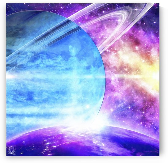 Jovian Orbit by ChrisHarrisArt