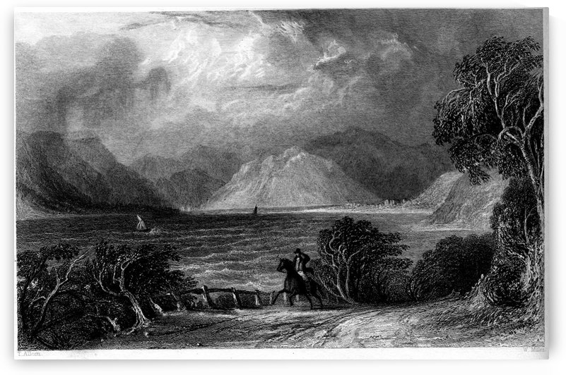 Ullswater from Pooly Bridge by Thomas Allom