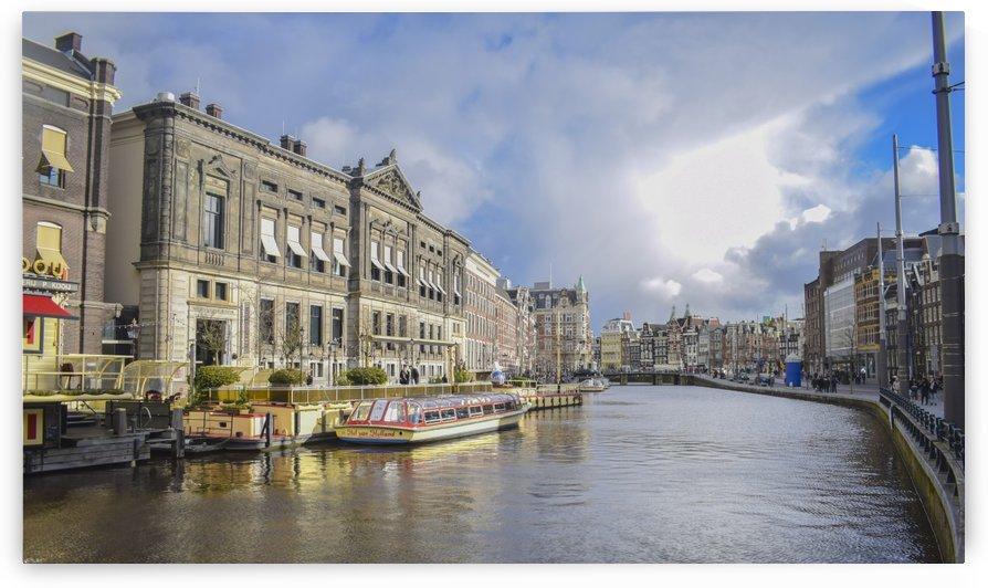 Amsterdam Evening  by Bayaaz