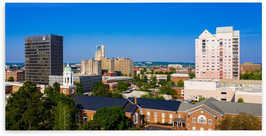 Downtown Augusta GA Skyline Aerial View 0685 by @ThePhotourist