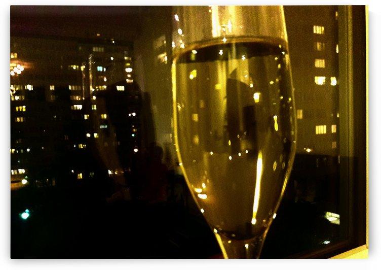 Champagne 4 by Gina Lafont