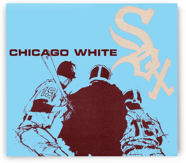 Chicago White Sox Baseball Poster Fine Art by Row One Brand