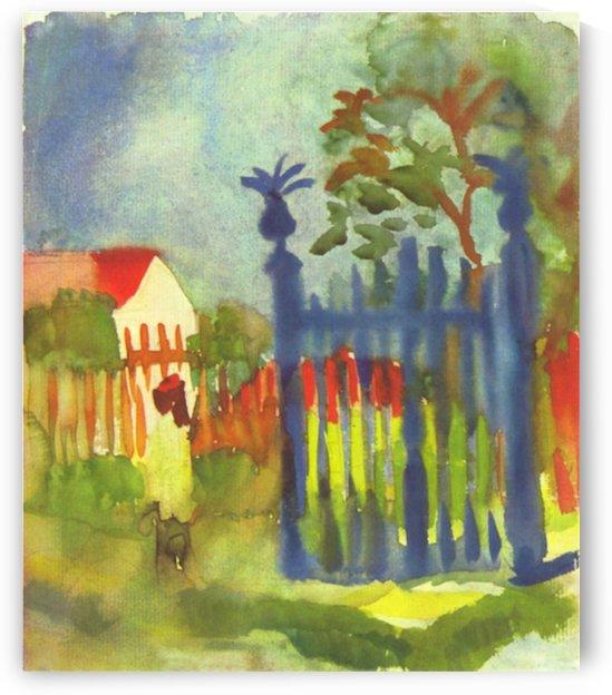 Garden gate by Macke by Macke