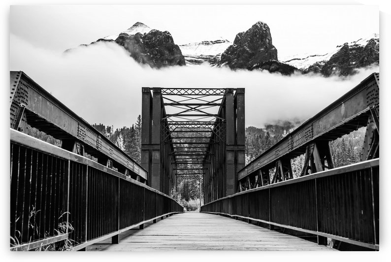 Canmore Iconic Engine Bridge by Mike Gould Photoscapes