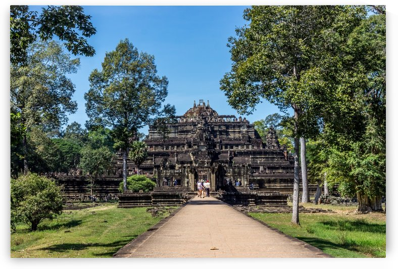 View of Temple Cambodia by RezieMart