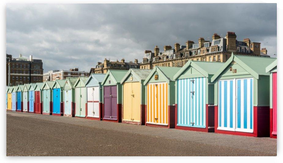 Brighton beach huts by RezieMart