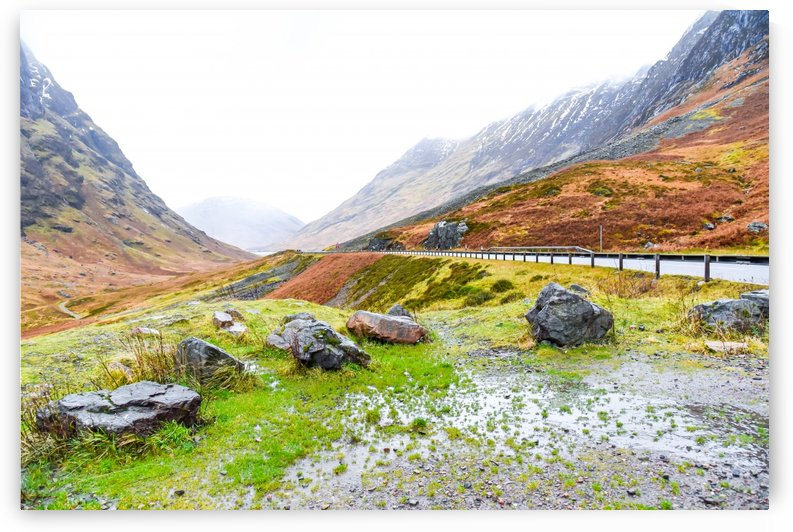 Glen Coe Scotland Highland United Kingdom by RezieMart