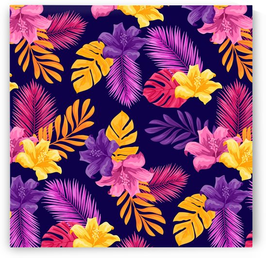 tropical pattern by Shamudy