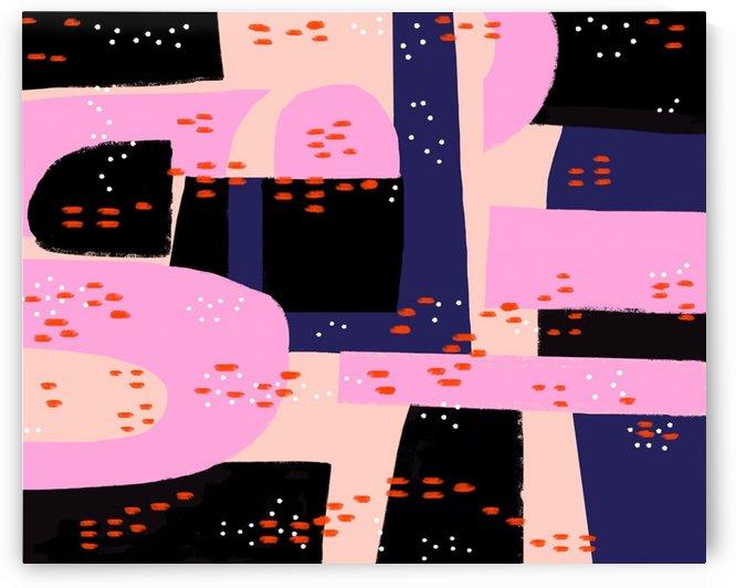 Vibrant Tropical Dot Patterns by Shamudy