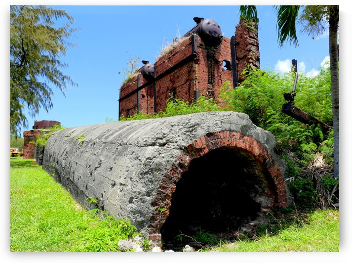 Japanese sugar mill ruins by On da Raks