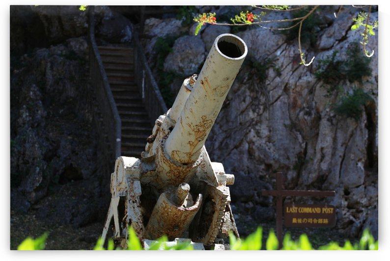 Old Japanese cannon  by On da Raks