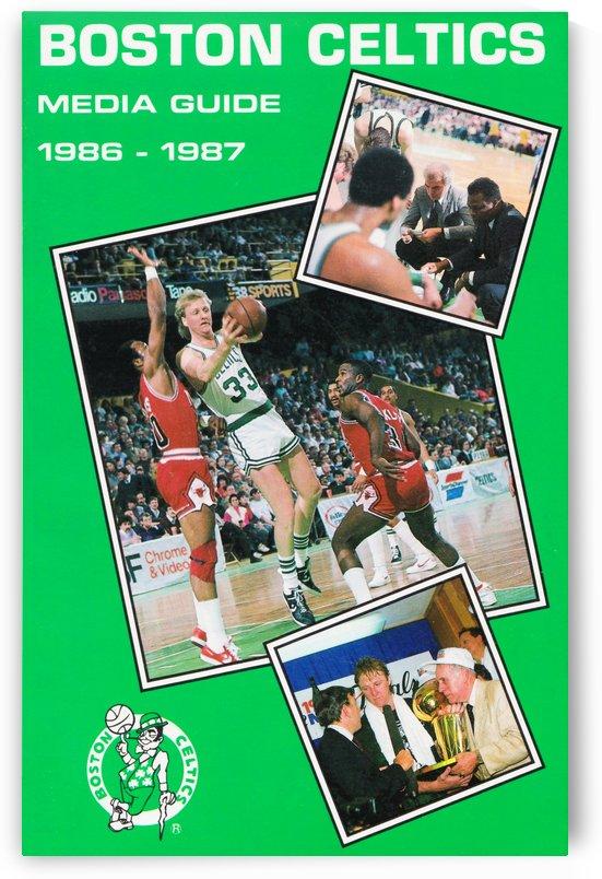 1986 Boston Celtics Media Guide by Row One Brand