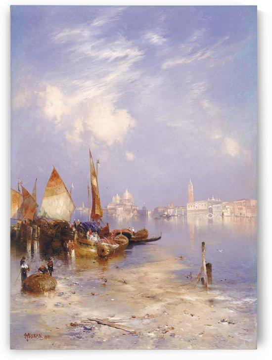 Entering Venice by Bernardo Bellotto