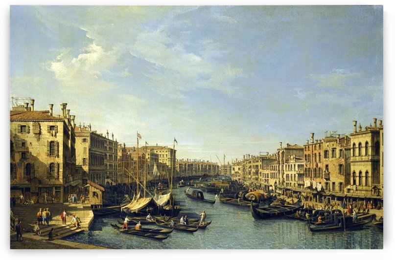 Venice - The Grand Canal by Bernardo Bellotto