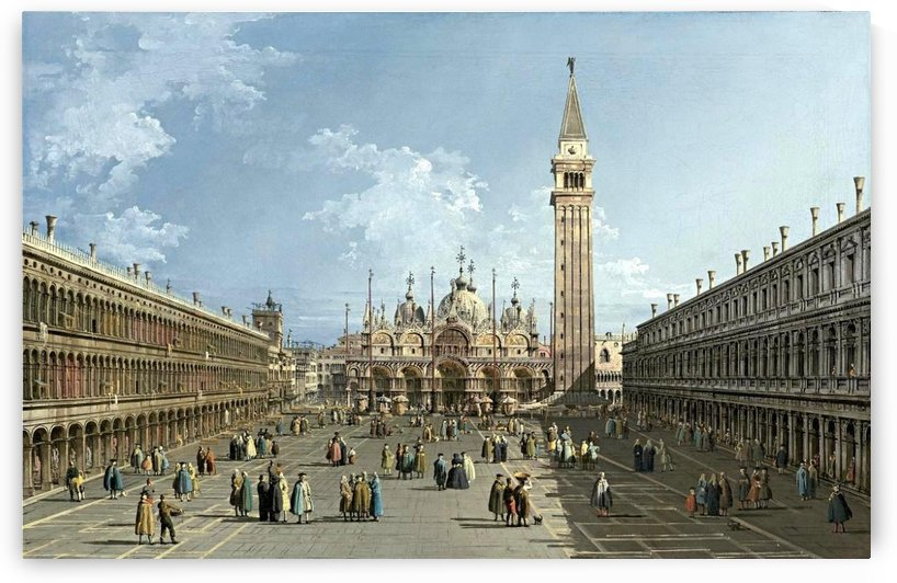 Piazza San Marco by Bernardo Bellotto