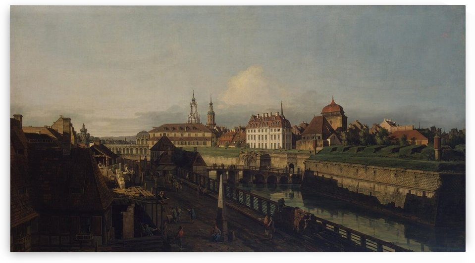 Old Fortifications of Dresden by Bernardo Bellotto