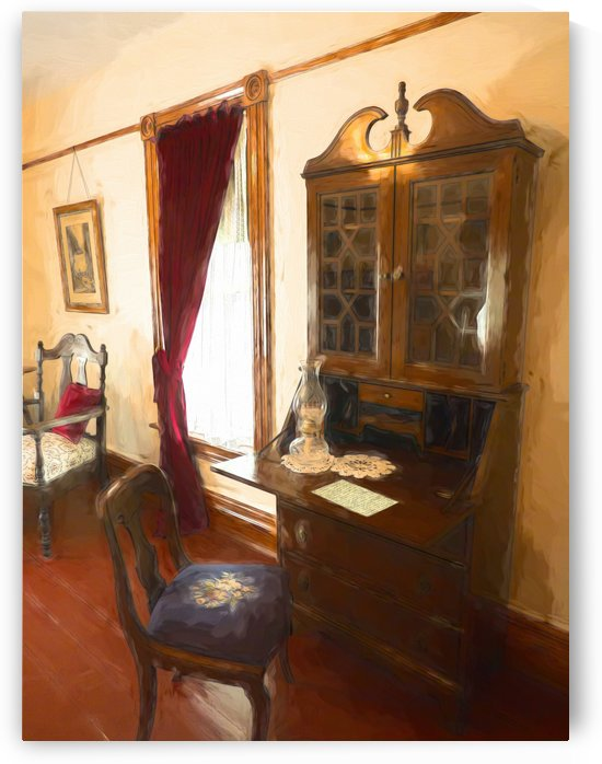 The Writing Desk by Leslie Montgomery