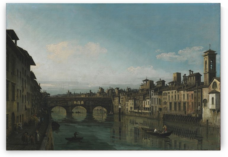 City of Florence by Bernardo Bellotto
