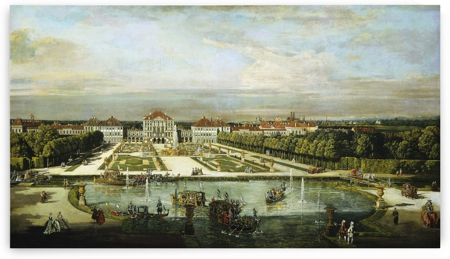 Luxury and extravaganza by Bernardo Bellotto