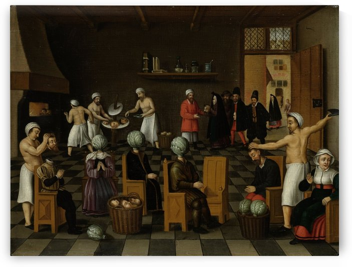 The Legend of the Baker of Eeklo by Cornelis Van Dalem