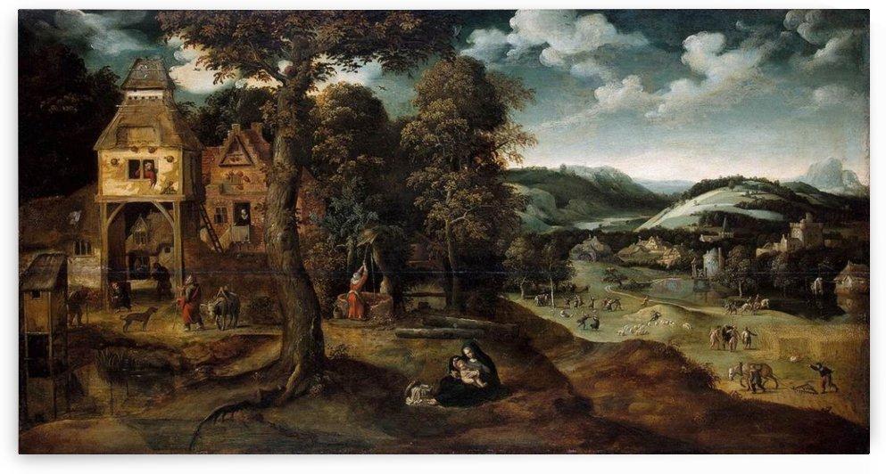 Land Egy by Cornelis Van Dalem