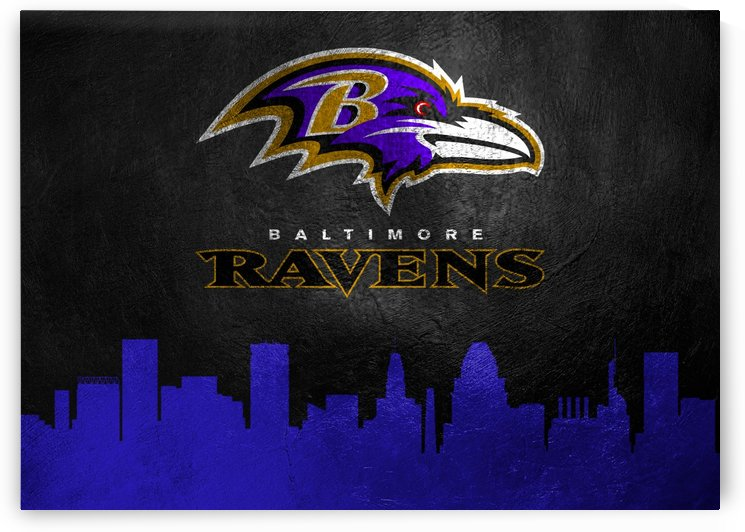Baltimore Ravens Skyline by ABConcepts