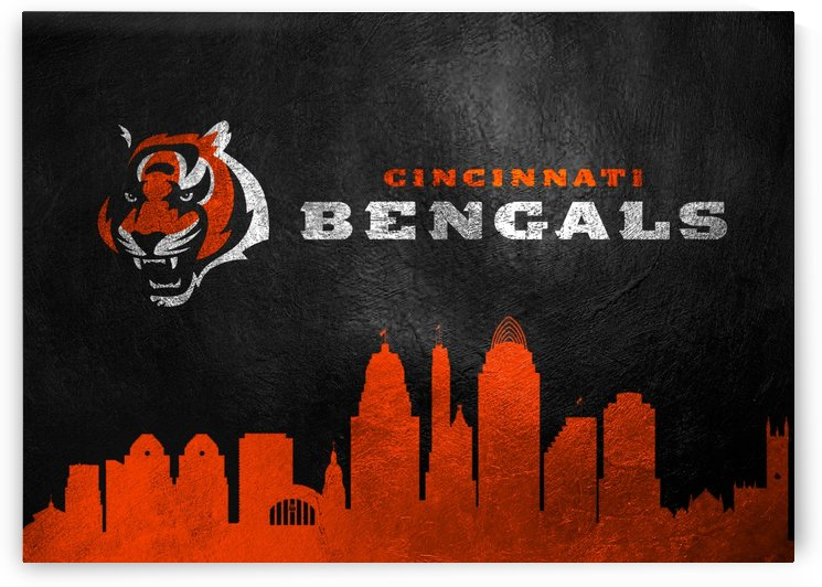 Cincinnati Bengals Skyline by ABConcepts