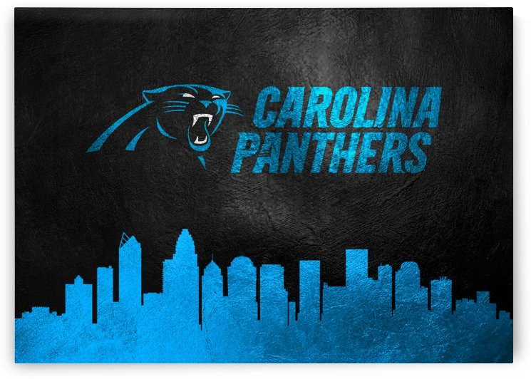 Carolina Panthers Skyline by ABConcepts