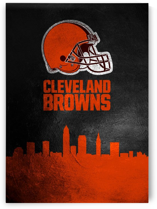 Cleveland Browns Skyline by ABConcepts