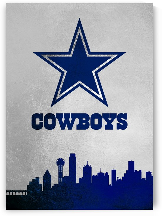 Dallas Cowboys Skyline by ABConcepts