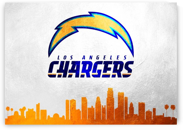 Losangeles Chargers Skyline by ABConcepts