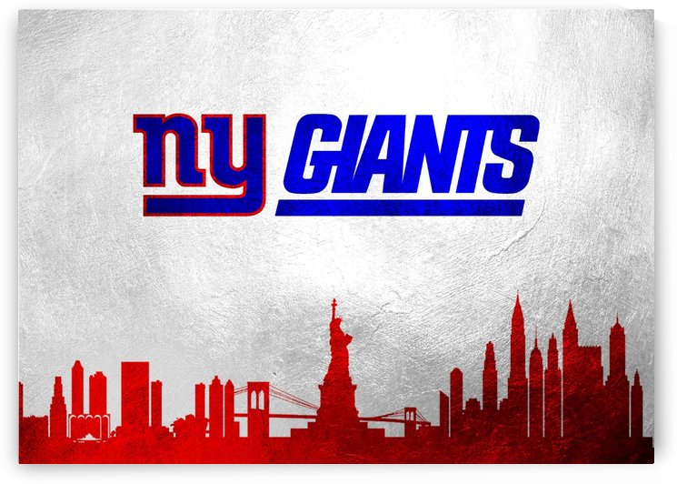 New York Giants Skyline by ABConcepts