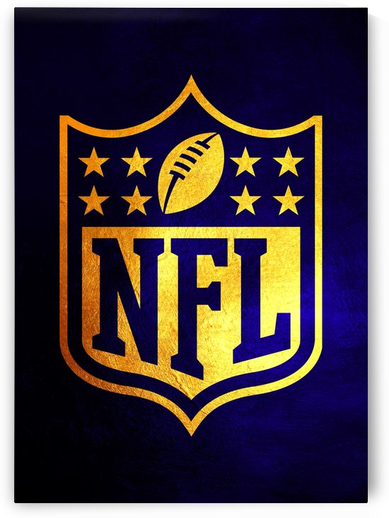 Nfl logo Blue Gold Skyline by ABConcepts